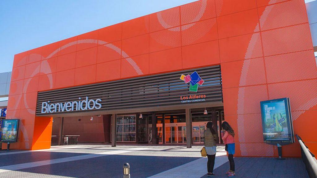 centro comercial los alfares